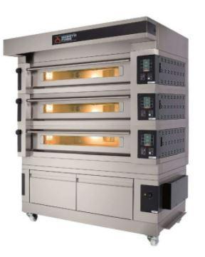 Moretti Forni COMP S125E-3-L Commercial Pizza Oven - The Pizza Oven Store Australia