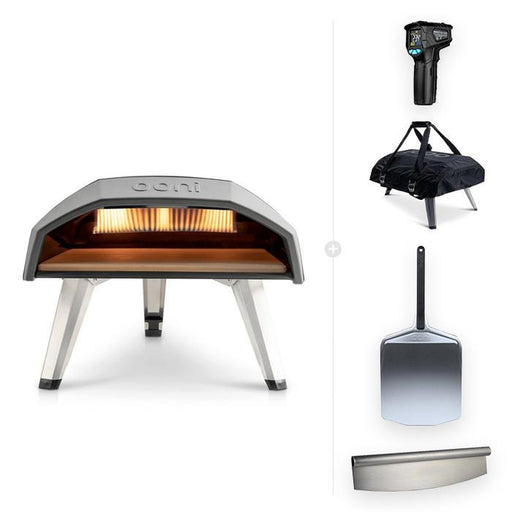Ooni Gas Oven Ooni Koda | Outdoor Gas Pizza Oven - 'Protect & Serve' Bundle with Free Shipping