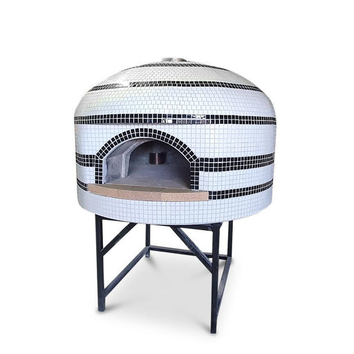 OvenMasters Wood Fire Pizza Oven With Stand (+$1320) / Plus Gas Burner (+$2640) / No Wheels OvenMasters Centro 100 Napoli Wood Fired Pizza Oven