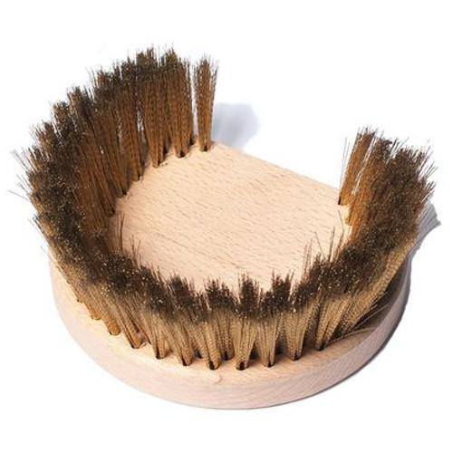 Regina Round Oven Brush – Replacement Head Only SPAZ-03 Pizza Tools And Accessories the pizza oven store