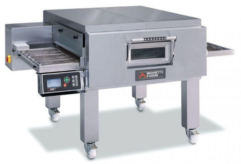 Image of Moretti Forni TT98E-1 Conveyor Pizza Oven the pizza oven store