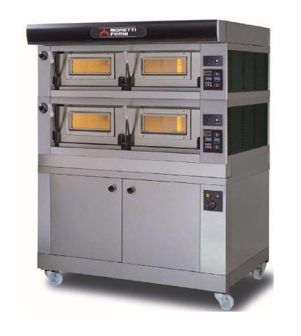 Moretti Forni COMP P120E B-2-S Commercial Pizza Oven - The Pizza Oven Store Australia