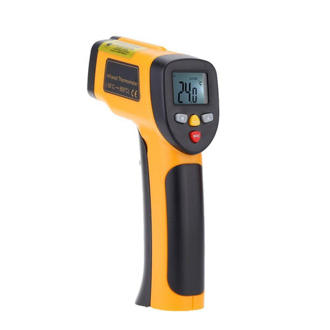 Industrial Compact Infrared Thermometer Gun -50°C to 650°C - The Pizza Oven Store Australia