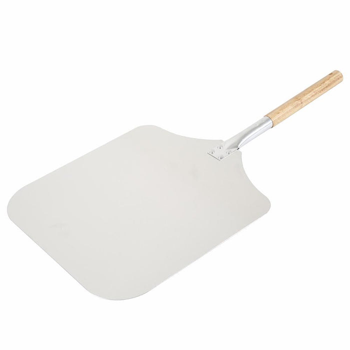"Wood Handle Aluminium Pizza Peel (12"") 