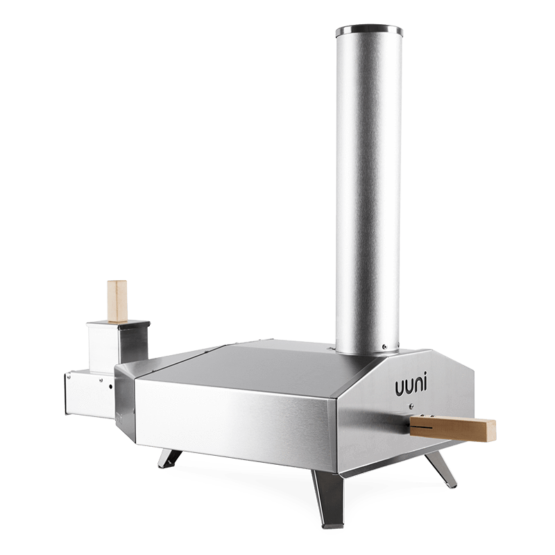 'Uuni 3' Pizza Oven by Ooni + Gas Burner Bundle Incl. Cover + 2KG Pellets + Rocker Cutter the pizza oven store