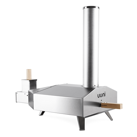 Image of 'Uuni 3' Pizza Oven by Ooni + Gas Burner Bundle Incl. Cover + 2KG Pellets + Rocker Cutter the pizza oven store