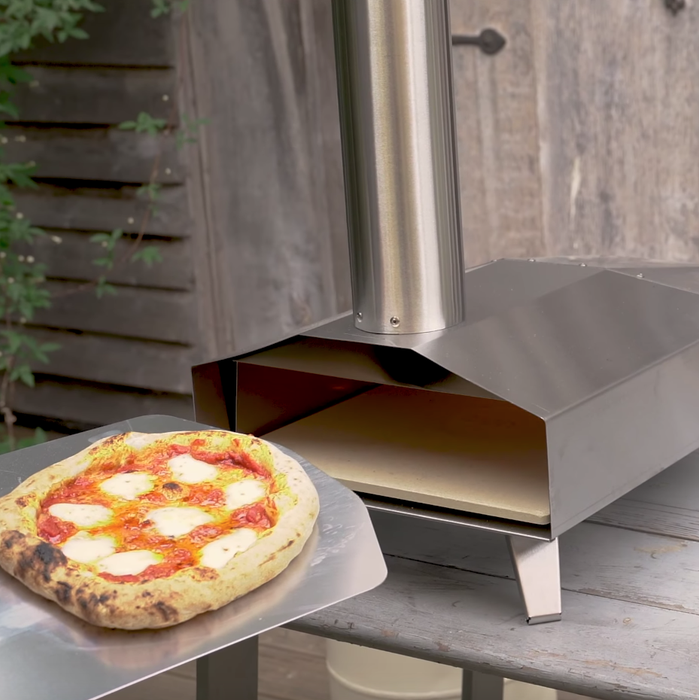 Ooni 3 | Portable Outdoor Wood Fired Pizza Oven - 10kg Wood & Gas Burner Bundle | Free Shipping | The Pizza Oven Store