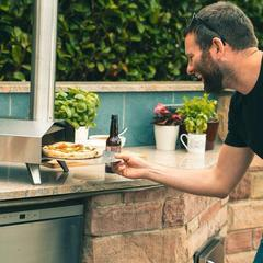 Ooni 3 Portable Outdoor Wood Fired Pizza Oven Wood