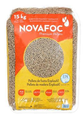 Novafoc: Premium Wood Pellets 15KG | The Pizza Oven Store