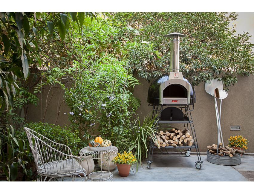 Valoriani Baby 60 Series Luxury Edition Residential Wood Fired Oven - The Pizza Oven Store