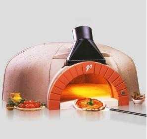 Image of Vesuvio GR100 GR Series Round Commercial Wood Fired Oven the pizza oven store