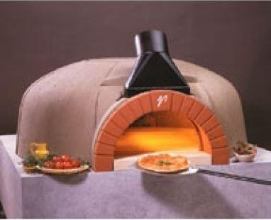 Vesuvio GR140X180 GR Series Oval Commercial Wood Fired Oven - The Pizza Oven Store
