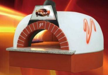 Image of Vesuvio GR180 GR Series Round Commercial Wood Fired Oven the pizza oven store