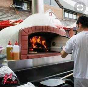 Vesuvio IGLOO120×160 IGLOO Series Oval Commercial Wood Fired Oven - The Pizza Oven Store Australia