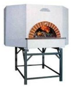 Vesuvio OT100 OT Series Round Commercial Wood Fired Oven - The Pizza Oven Store Australia