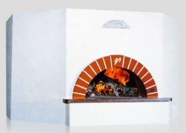 Vesuvio OT120 OT Series Round Commercial Wood Fired Oven - The Pizza Oven Store