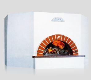 Image of Vesuvio OT120 OT Series Round Commercial Wood Fired Oven the pizza oven store