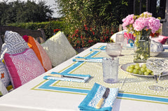 East London Parasol Company Cushions and tablecloths
