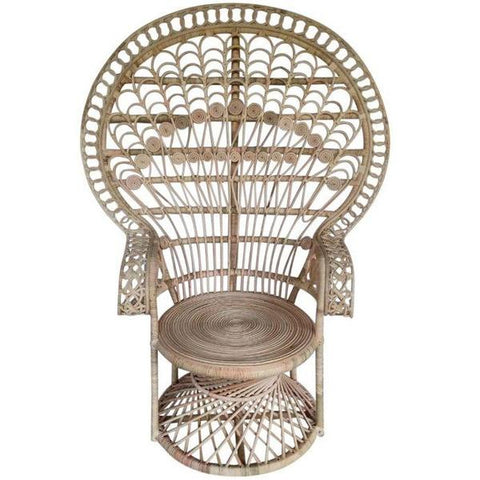 Peacock Chair with beautiful detailing