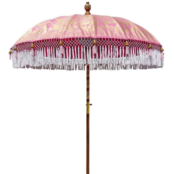 Heidi Round Bamboo Parasol-delivery July