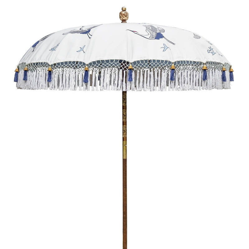 Lexi Round Bamboo Parasol-delivery july