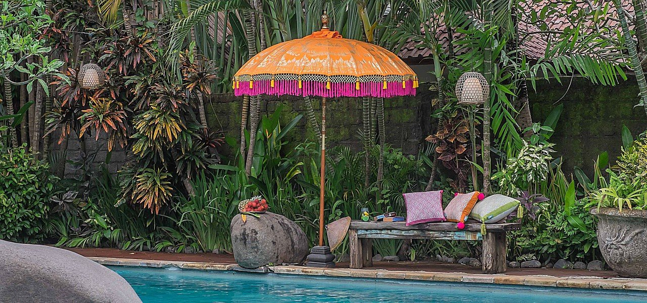 Etta parasol east london parasol company balinese orange pink and gold