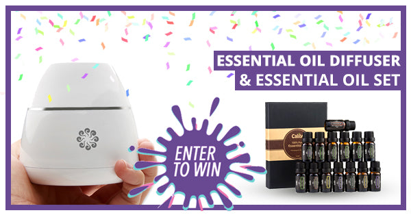 GIVEAWAY Re-Opened - Win a FREE Essential Oil Diffuser + Oils (8 Different Prizes in All!)
