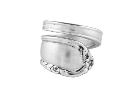 Dancing Flowers Spoon Ring