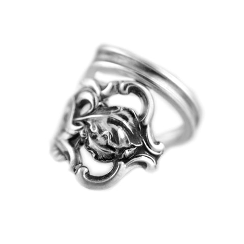 Poppy Spoon Ring