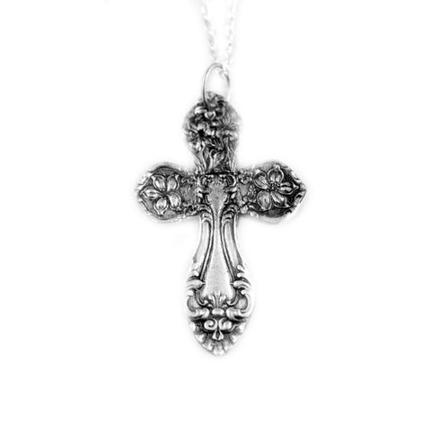 Cross Spoon Pendant