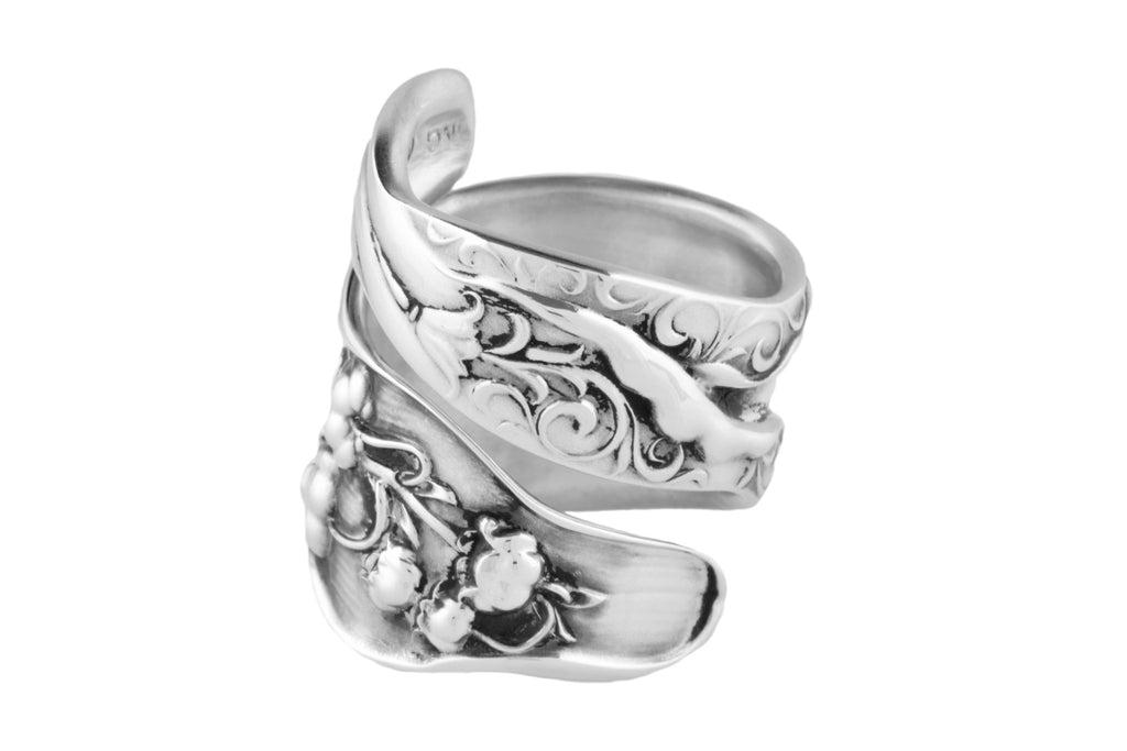 Lilly Of The Valley Sterling Spoon Ring