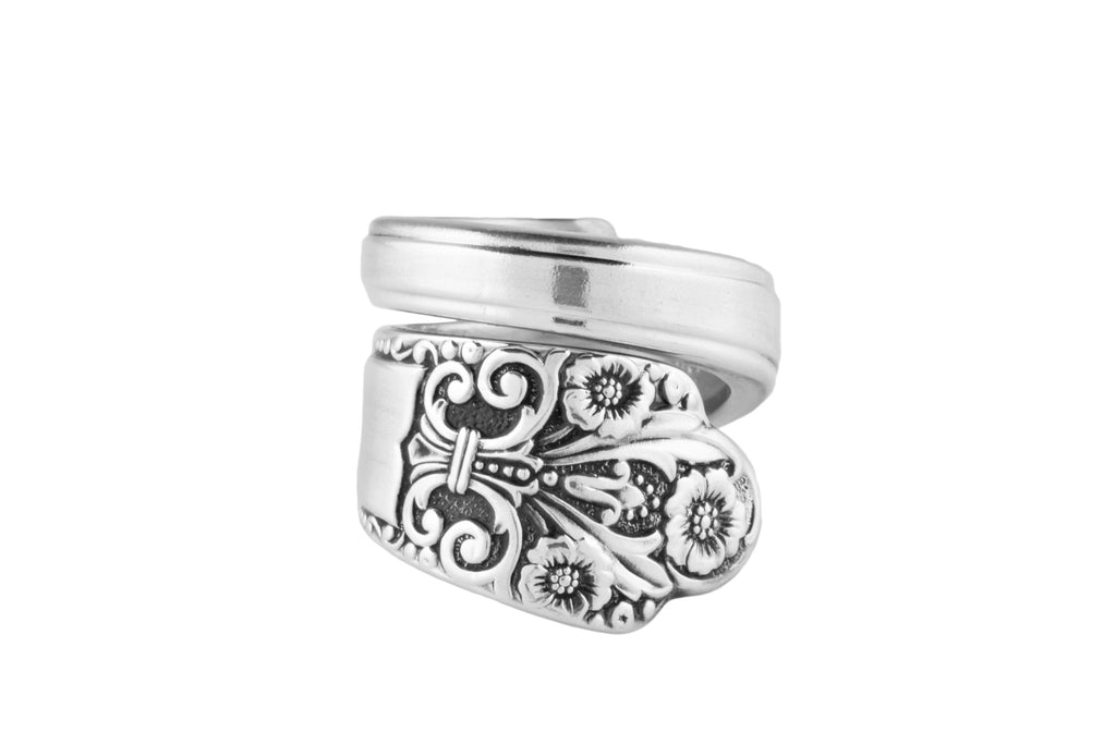 Precious Spoon Ring