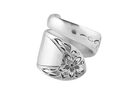 Primrose Sterling Spoon Ring