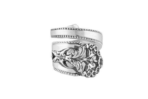 Queens Lace Spoon Ring