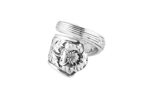 Royal Rose Spoon Ring