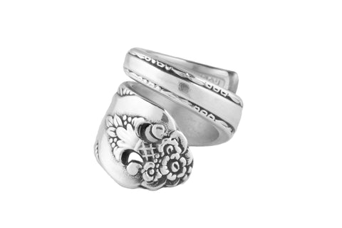 Lovely Lady Spoon Ring