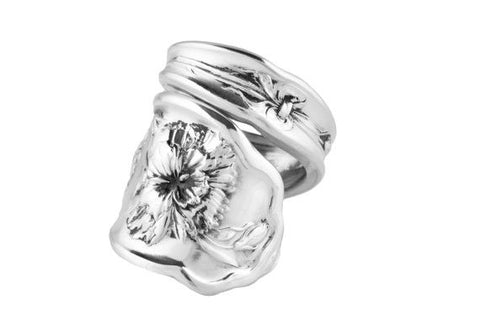 Carnation Spoon Ring
