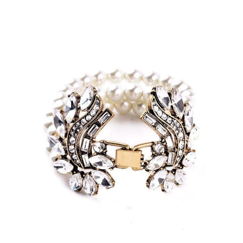 LONDON CROWN CUFF BRACELET - SWANL