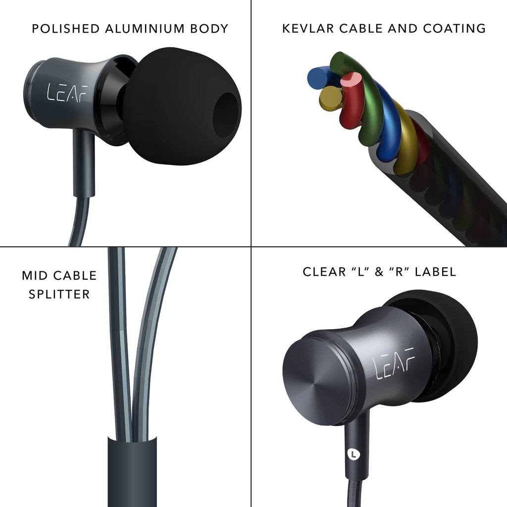 Leaf Bolt- Premium Wired Earphones