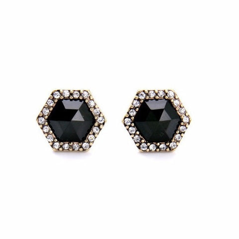 AMERICAN POP CONCISE STUD EARRINGS - SWANL