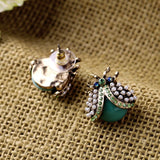 LADY BEETLE STUD EARRINGS | SWANL