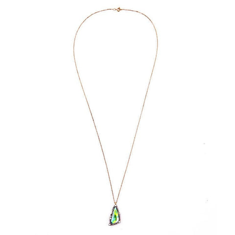 EARTHLY SCIENTIFIC GEOMETRIC PENDANT NECKLACE - SWANL