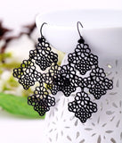 LACE CHANDELEIR BOHEMIA EARRINGS - SWANL