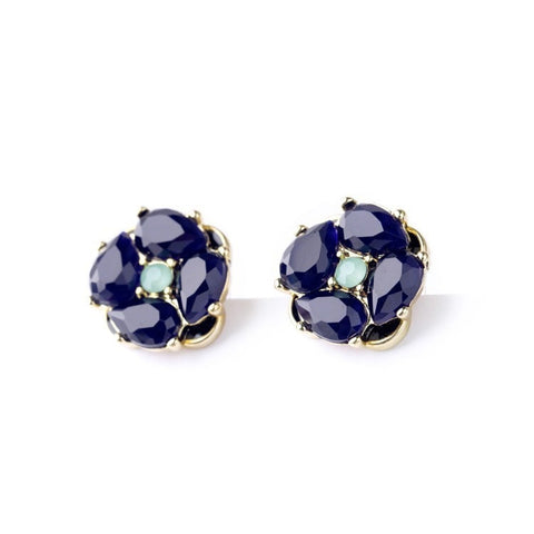MIDSUMMER BLOOM STUD EARRINGS - SWANL