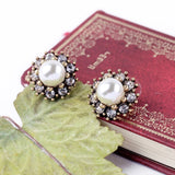 ANCIENT ROYAL POP PEARL EARRINGS - SWANL