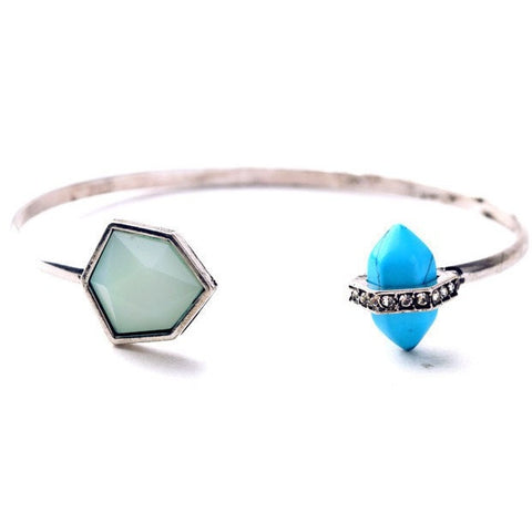 PURE DESTINY TURQUOISE BANGLE - SWANL