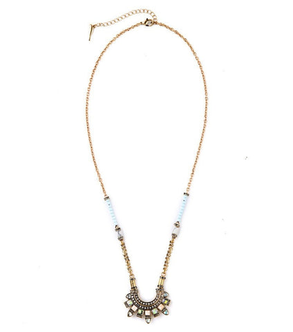 MIA EVELYN LONG PENDANT NECKLACE - SWANL