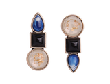 UP N DOWN STUD EARRINGS - SWANL