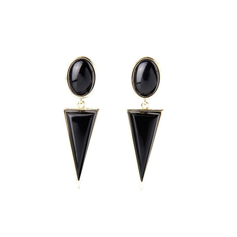EUROMURICA TIDE SHARP DROP EARRINGS - SWANL