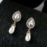 QUEEN OF PEARLS DROP EARRINGS | SWANL